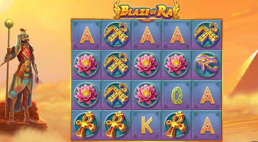 игровой автомат Blaze of RA в казино Плей Фортуна