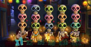 игровой автомат скелеты