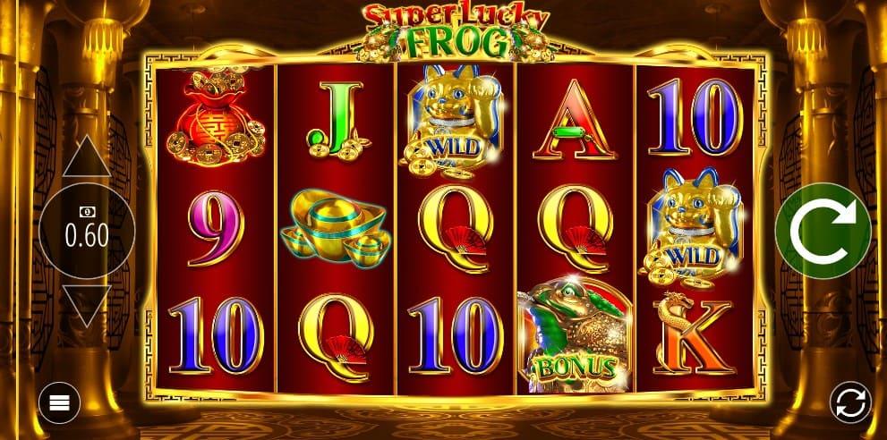 игровой автомат Super Lucky Frog бесплатно и без регистрации на Плей Фортуна 2018