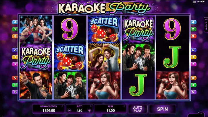 Игровой автомат вечеринка в караоке в казино Плей Фортуна
