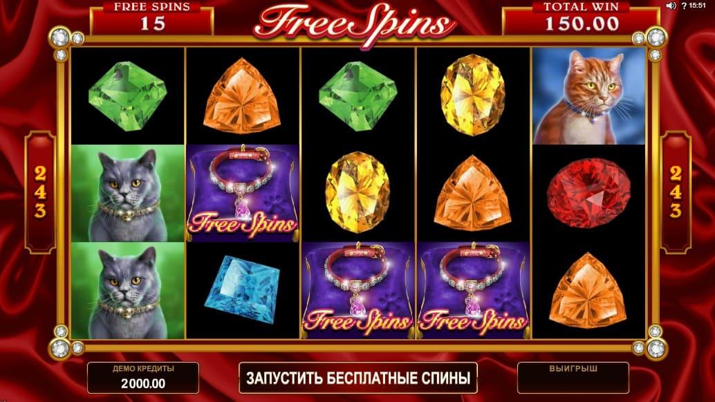 Игровой автомат Pretty Kitty в казино Плей Фортуна