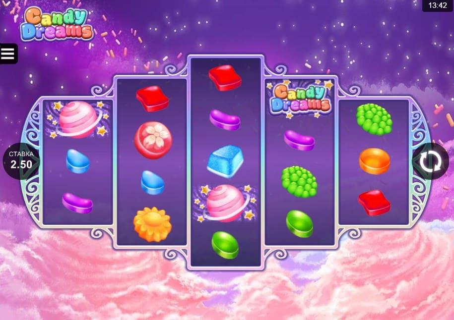 Игровой автомат Candy Dreams в казино Плей Фортуна