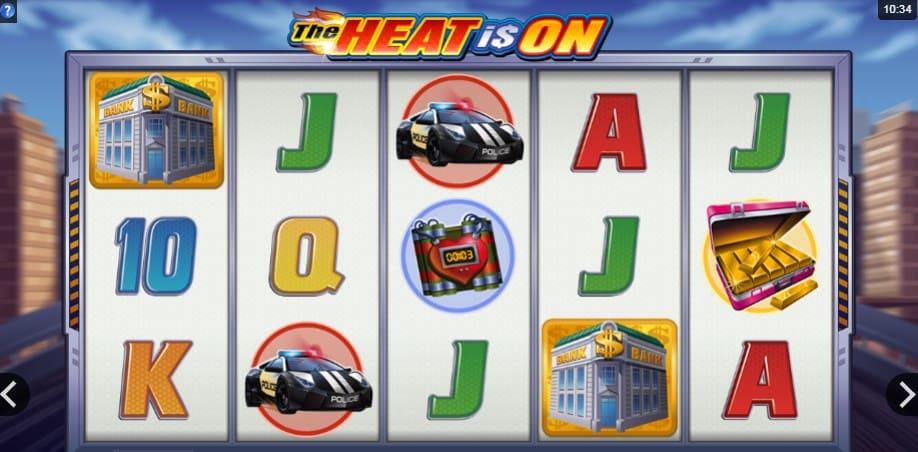 Игровой автомат The Heat is On в казино Плей Фортуна